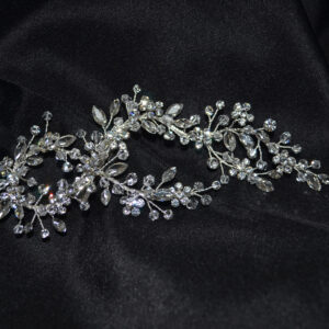 Rhinestone and Marquise flower clip.